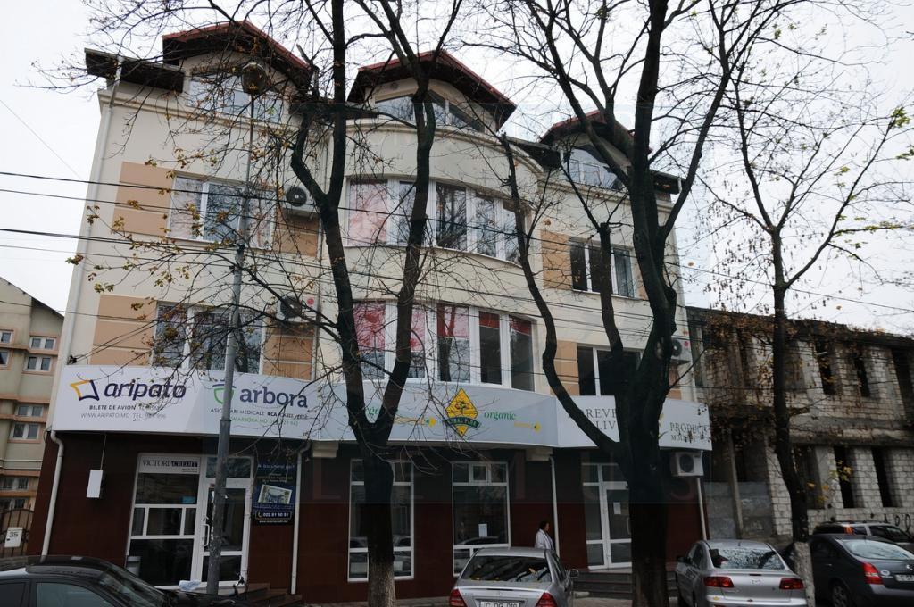 Офисное здание по улице Еминеску в Кишиневе.