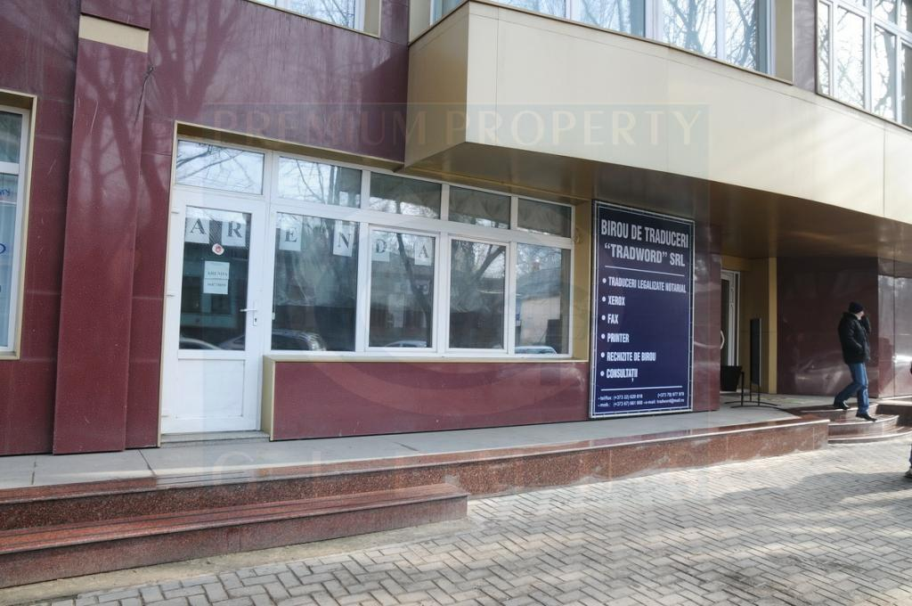 Commercial spaces on Bucuresti street