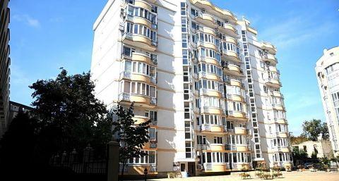 Popular building on Eminescu street