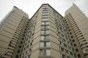 Apartment building on 23, Decebal street