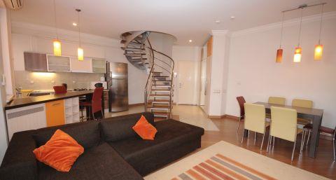 Large one-bedroom duplex apartment near Le Roi Business Center