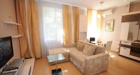 Modern two-bedroom apartment on Stefan cel Mare Ave