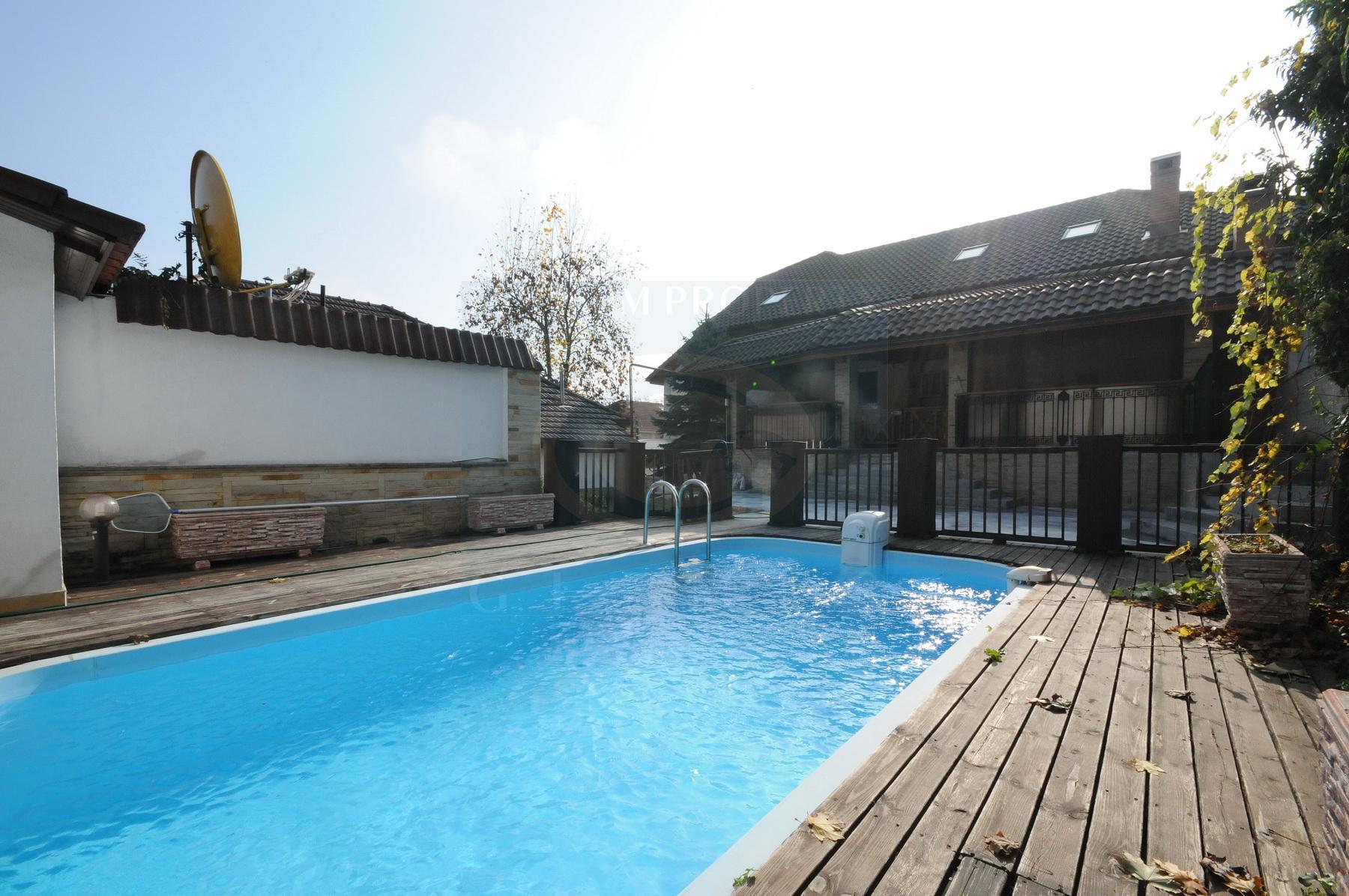 Huge house with heated pool
